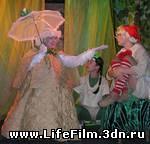 Кадр их фильма Золотой ключик (2008)